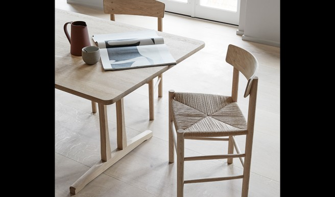 Fredericia Brings Back Iconic Mogensen Tables