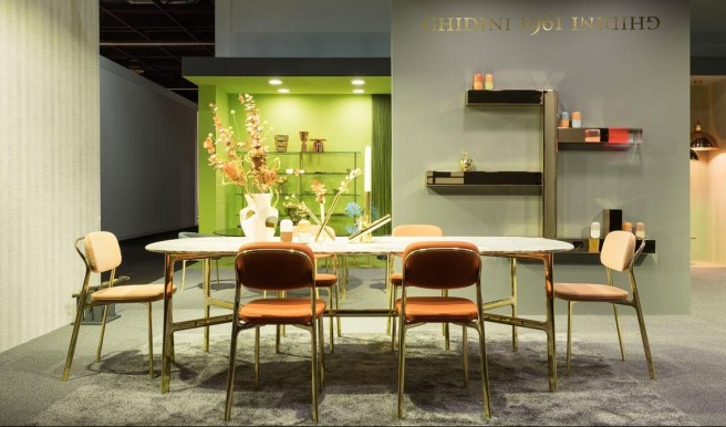 Chairs and Tables by Ghidini1961 at IMM Cologne
