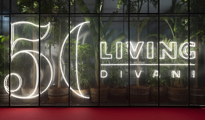 Living Divani Celebrates 50 Years with New Additions at Salone del Mobile