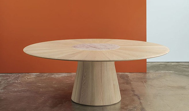 Reverse Wood Table by Andreu World Wins Best of NeoCon Silver Award