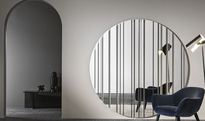 New Barcode Mirror from Tonelli Design