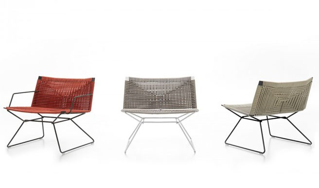 MDF Italia Presents New Neil Twist Chair