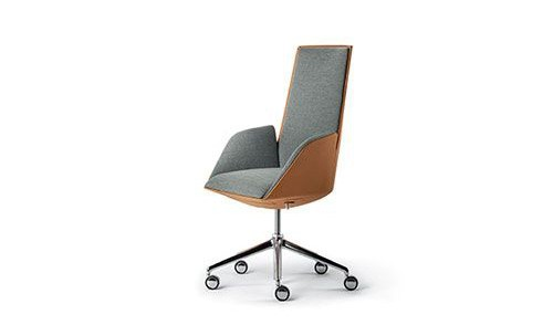 Cercle Chair by Poltrona Frau: Sharing in the Office