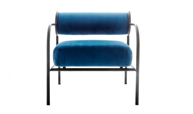 "Cappellini Presents Black Edition of ""Sofa With Arms"""
