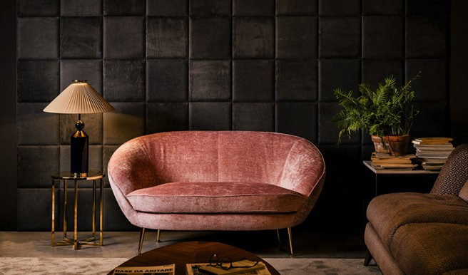 Giulia Sofa by Black Tie: Comfort and Charm