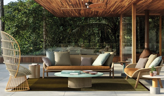 Vimini Collection from Kettal: the Beauty of Being Outdoors