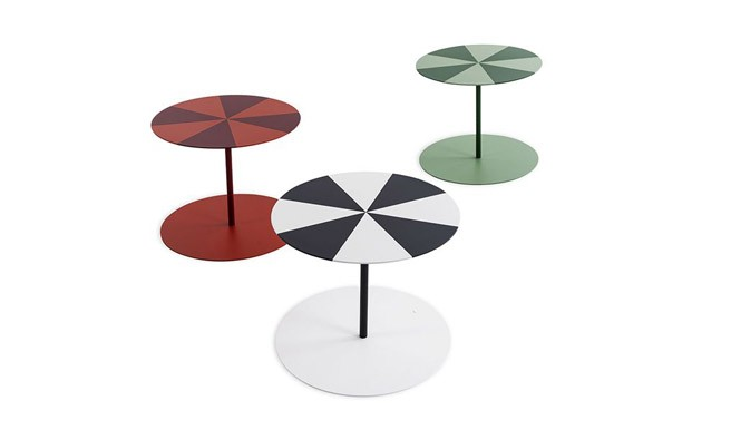 New Gong Circus Tables by Cappellini