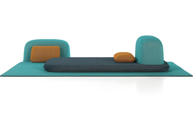 Liu Jo's Ensemble Caillou: Unexpected Outdoor Furnishings