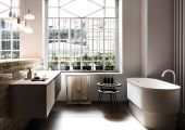 Immersion Bath Collection by Agape at IMM Cologne