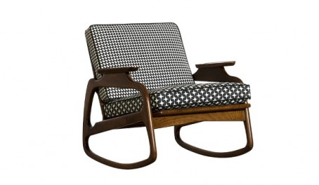 Baxter Ingrid Rocking Chair | Special Edition Printed