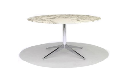 Knoll Florence Knoll Oval and Round High Tables