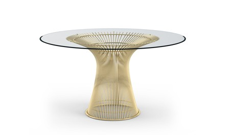 Knoll Platner High Table - Gold